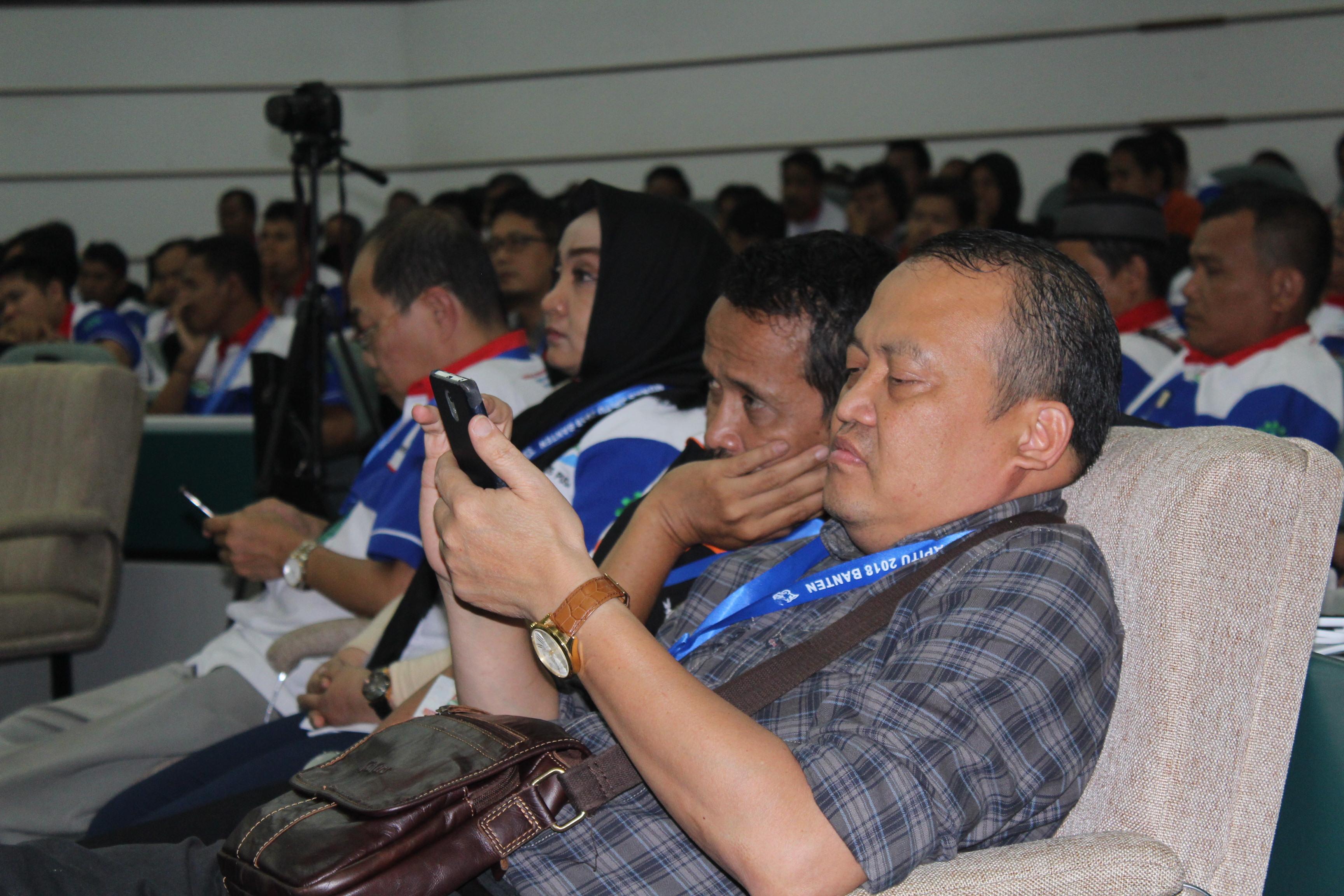 Dr. Kamin Sumardi, MPD dan Peserta Munas
