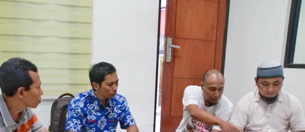 Dari kiri ke kanan : H. Moch Zainul Arifin, Muhammad riduwan, Pri Nurhartono dan Mujioo